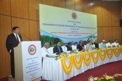 Shri Prakash Naiknavare, MD, NFCSF delivering his opening remarks